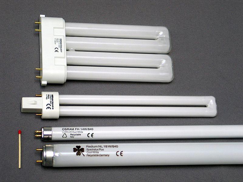 Люминесцентные лампы для накладных светильников