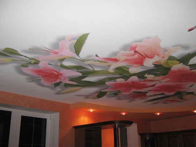 Как своими руками оформить потолок