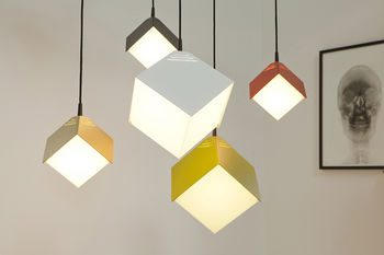 Светильники для комнаты в стиле кубизма