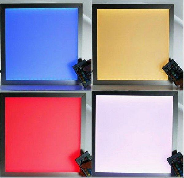 Управляемые светодиодные панели для потолка с возможностью изменения цвета свечения