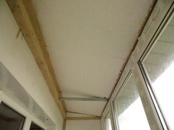Как утеплить потолок на балконе, лоджии своими руками: инстр.
