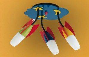Детские потолочные светильники – их виды и критерии выбора