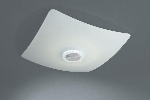 Такой светильник осветит и потолок, и пол, скрыв лампы от глаз обитателей комнаты.