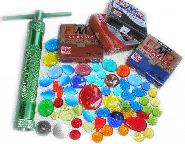 Набор цветные стекол для сборки потолочного витража