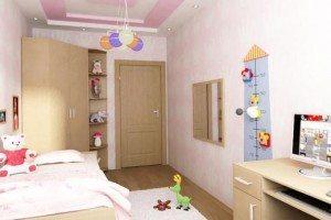 Потолки из гипсокартона в детской: идеи оформления