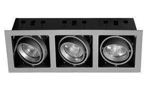Галогенные встраиваемые потолочные светильники квадратные