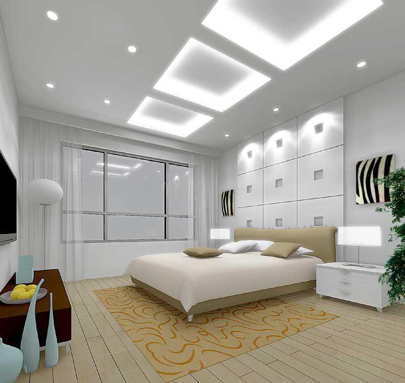 Мебельное оформление комнаты с низким потолком
