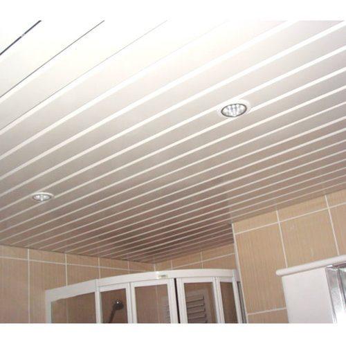 Так выглядит готовый потолок