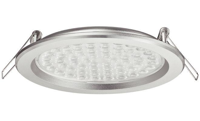 Светодиодный светильник: прекрасная светимость и отсутствие нагрева.