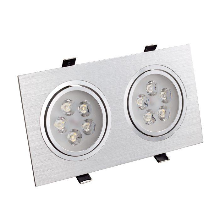 Светодиодные потолочные прямоугольные светильники