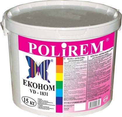 Акриловая краска обеспечивает оптимальный баланс между прочностью покрытия и ценой.