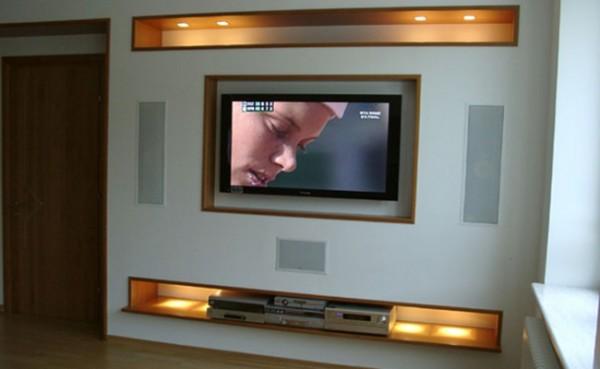 Встроенная акустическая система домашнего кинотеатра