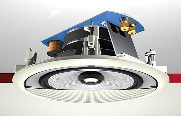 Простейшая потолочная акустическая система