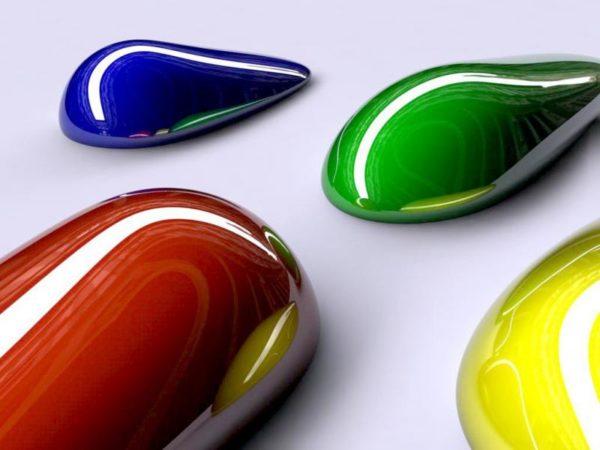 Алкидные краски яркие, прочные и нарядные.