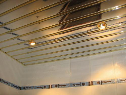 Потолок из алюминиевого профиля