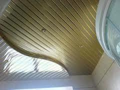 Подвесной потолок из алюминиевых элементов