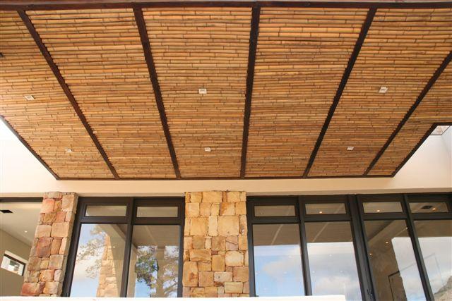 Потолок из бамбука: видео-инструкция по монтажу бамбуковых п.