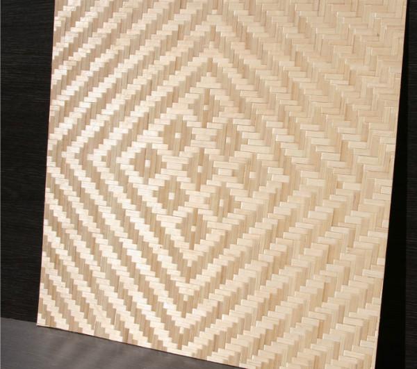 Потолочные плиты из бамбука - интересный и оригинальный вариант отделки