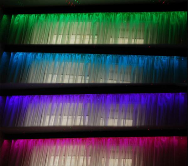 Благодаря подсветке для карниза интерьер комнаты приобретает невероятную атмосферу