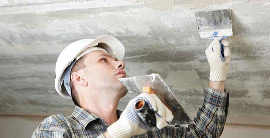 Подготовка поверхности перед тем как будет нанесен мел или известь