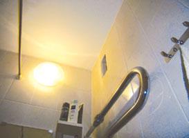 Побелка в ванной комнате