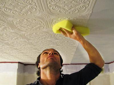 Как сделать потолок в доме своими руками