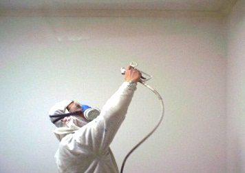 Распылитель для краски сокращает время!