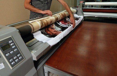 Типографский способ нанесения изображений на полиэстеровые ткани