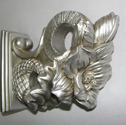 Декоративный кронштейн карниз 35 сатин
