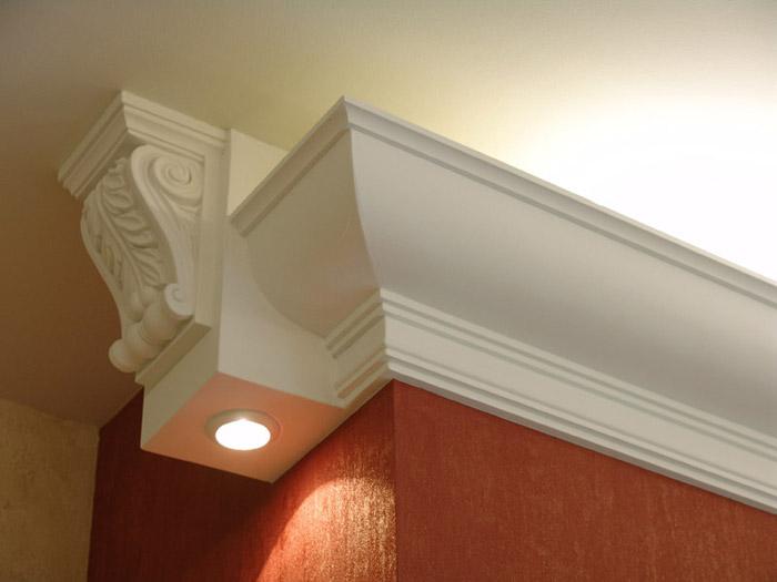 Декоративный потолочный плинтус (41 фото): видео инструкция монтажа своими руками, фото различных видов плинтуса