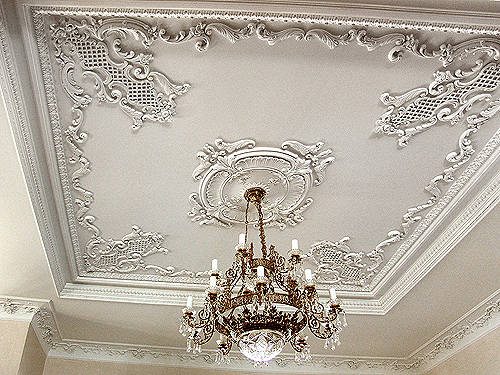 Декор для потолка своими руками фото