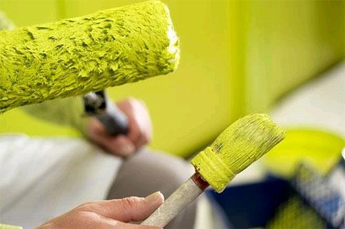 Краска для потолка делюкс