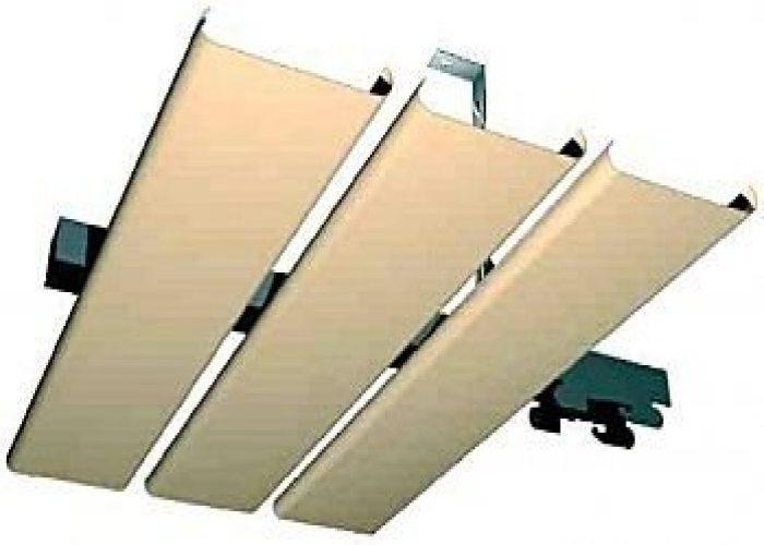 Принцип крепления реек на деревянный потолок или другой расцветки