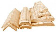 Декоративные деревянные профили для деревянных потолков