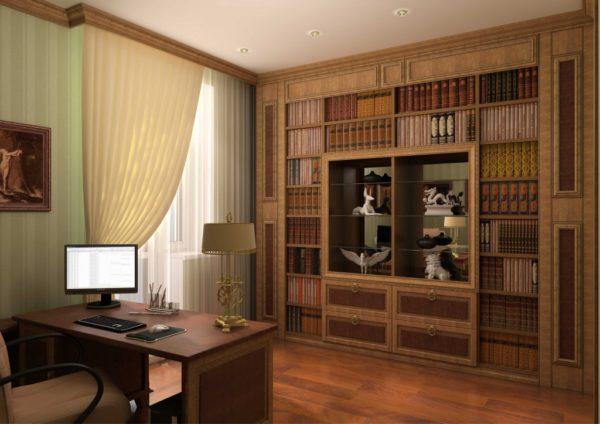 Деревянный потолочный багет и классика – идеальное сочетание