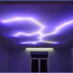 Дистанционно-управляемое освещение потолка