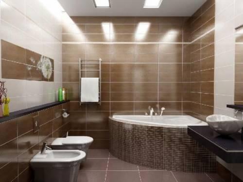 Интерьеры потолков ванной комнаты Термостат Hansgrohe Ecostat Select 13151000 для ванны с душем