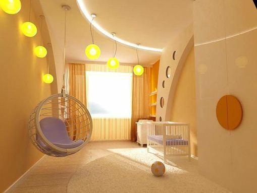 Гипсокартон – без преувеличений идеальный материал для детской комнаты