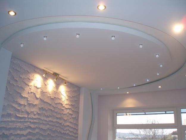 Округлый потолок