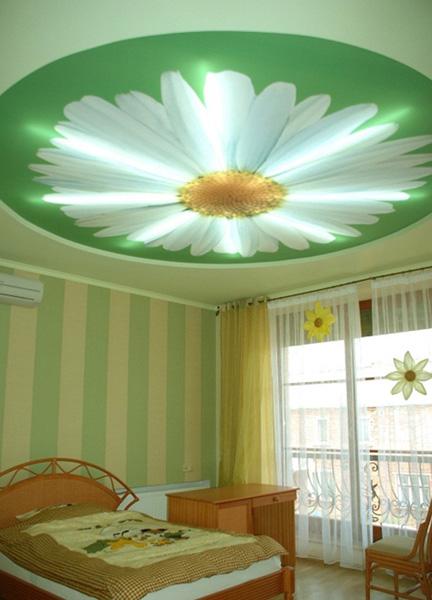Натяжные потолки являются одними из наиболее гибких в плане дизайна