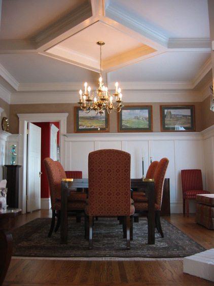 Потолок в классическом интерьере