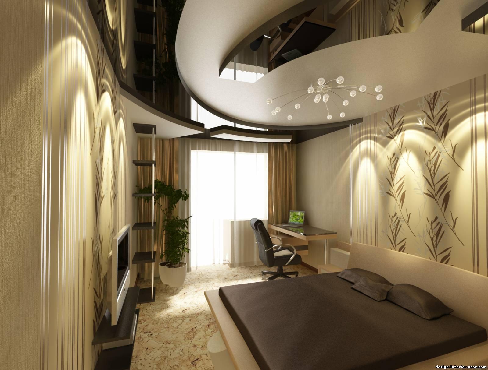 Оригинальный дизайн: гипсокартонные потолки многоуровневые