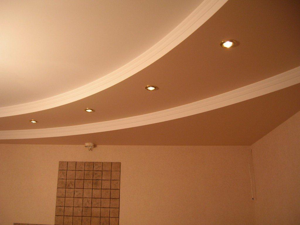 С помощью ступенчатого потолка мы придадим комнате желаемую форму, а плавные косые линии обеспечат стиль и эксклюзив