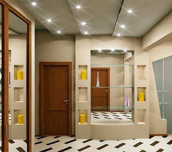 Светильники в прихожей: светлая и комфортная обстановка