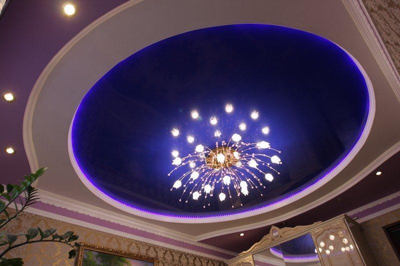 Какой тип светильников предпочесть и как его смонтировать на натяжном потолке? Попробуем узнать.
