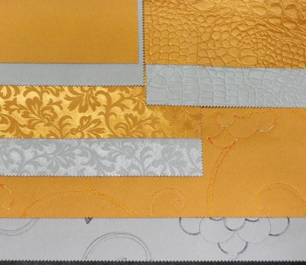 Для драпировки используют плотные ткани различных фактур.