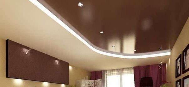 И такой потолок тоже можно смонтировать самостоятельно