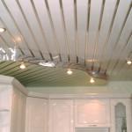 Двухуровневый пластиковый потолок