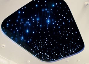 Звездное небо своими руками фото
