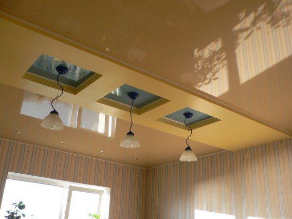 Эти натяжные потолки отнимут всего 5 см высоты кухни и прослужат более 25 лет, отталкивая пыль и сохраняя красоту и свежесть